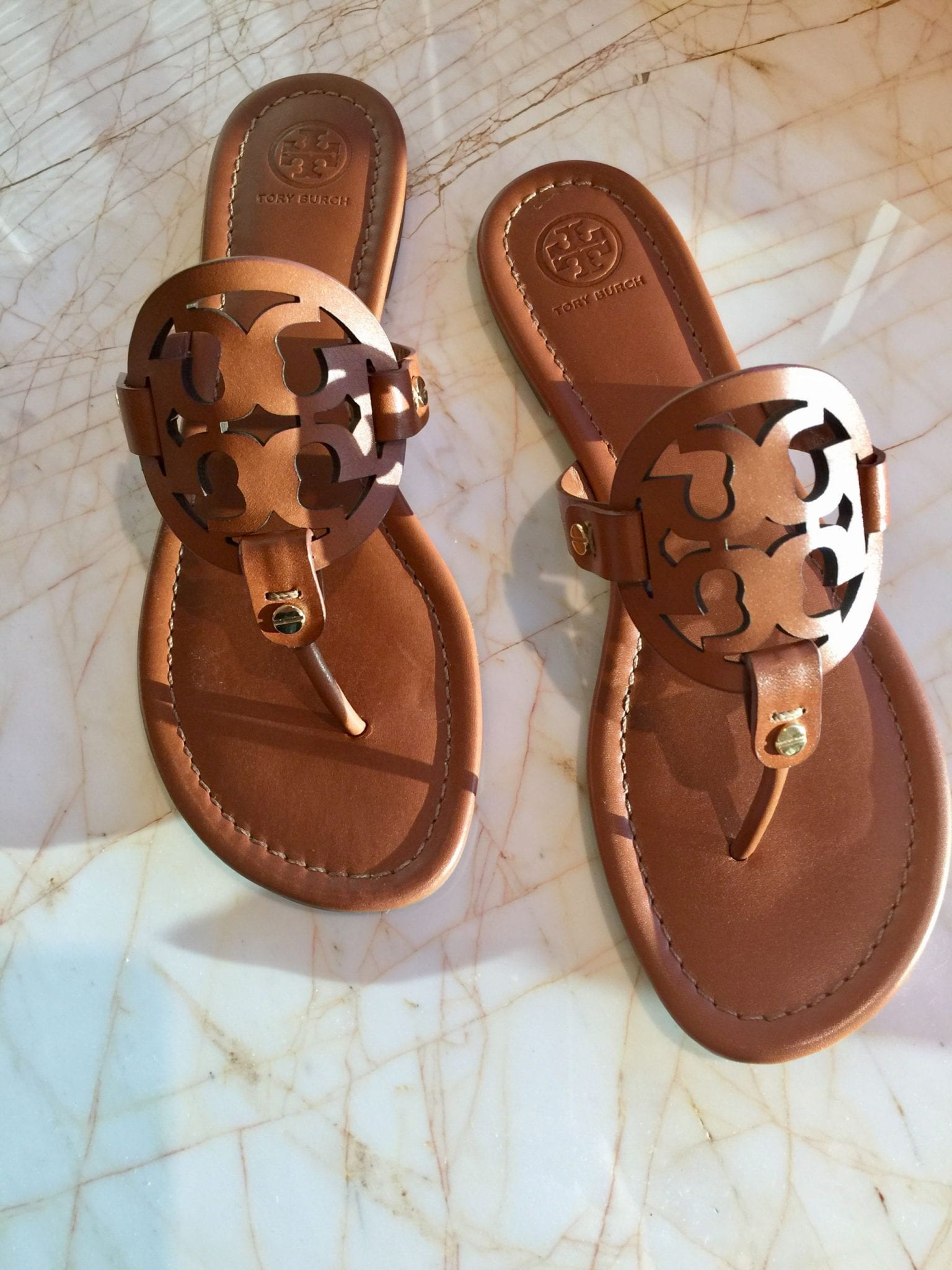 7fef84e7e9c My Summer Sandals  Tory Burch Miller Sandal in Vintage Vachetta Leather