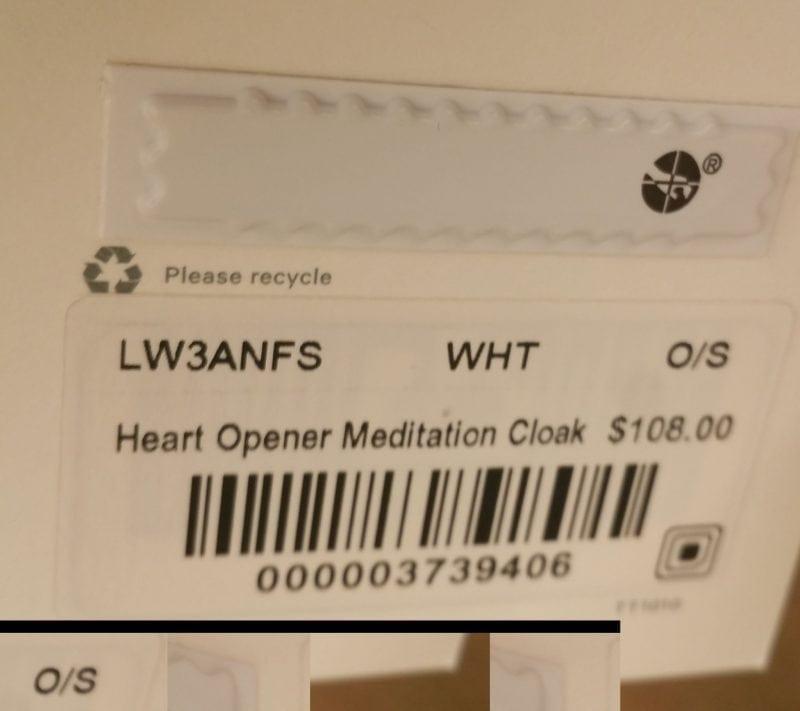 Heart Opener Meditation Cloak Taryn Toomey