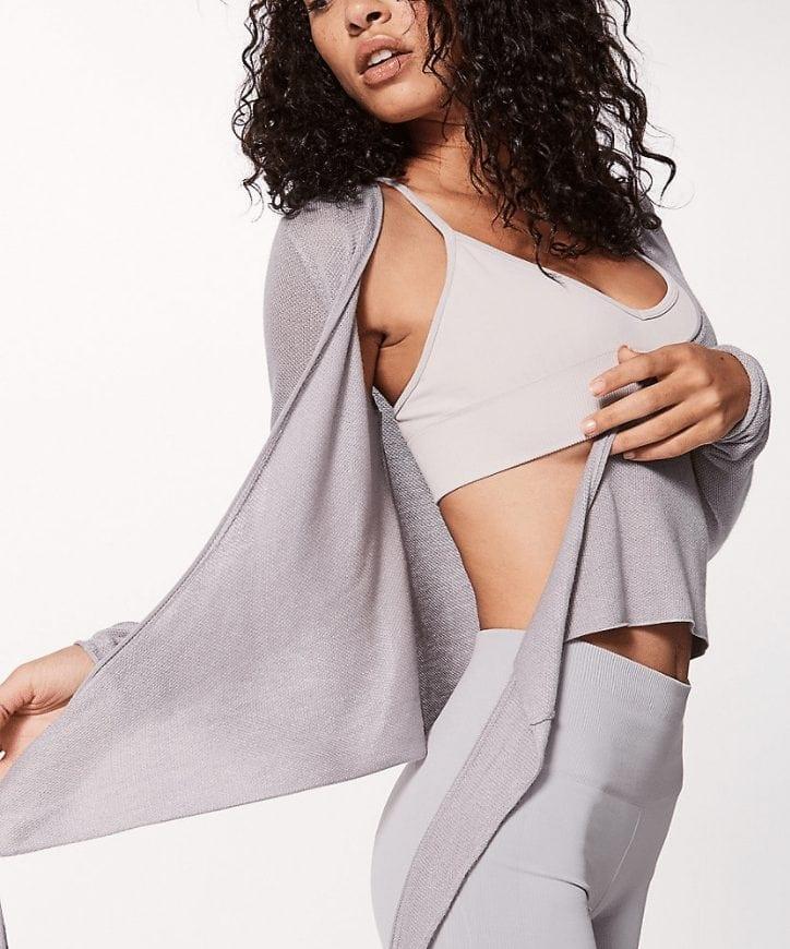 Heart Opener Knit Wrap Taryn Toomey Lululemon