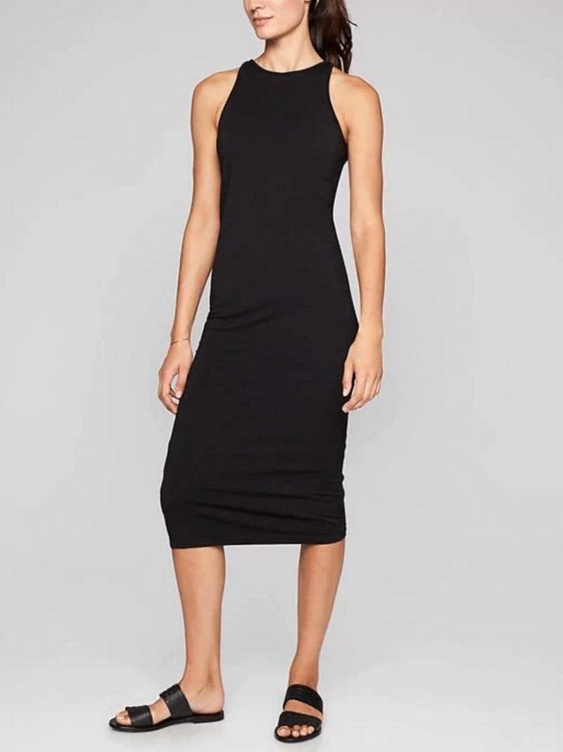 Solid Sunkissed Midi Dress