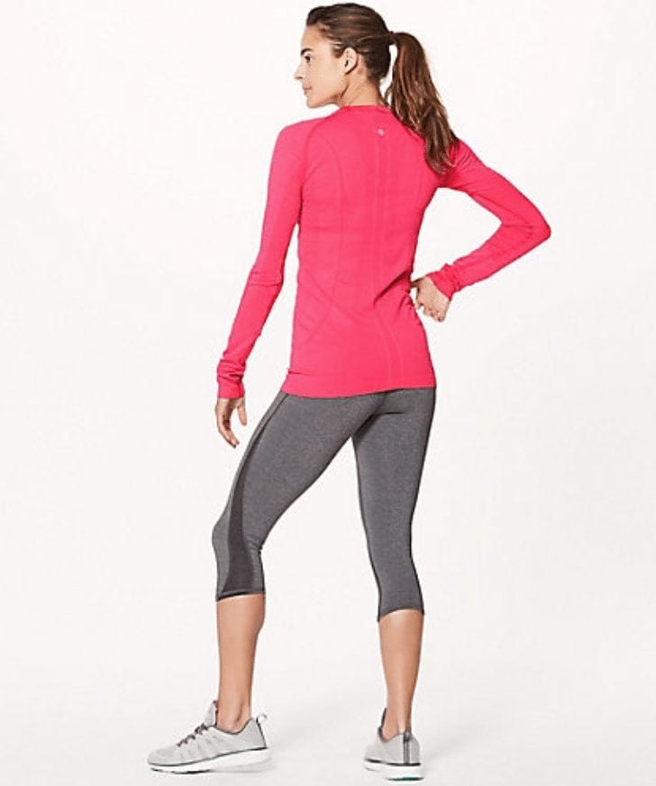 Run: Swiftly Tech Long Sleeve Crew Lip Gloss