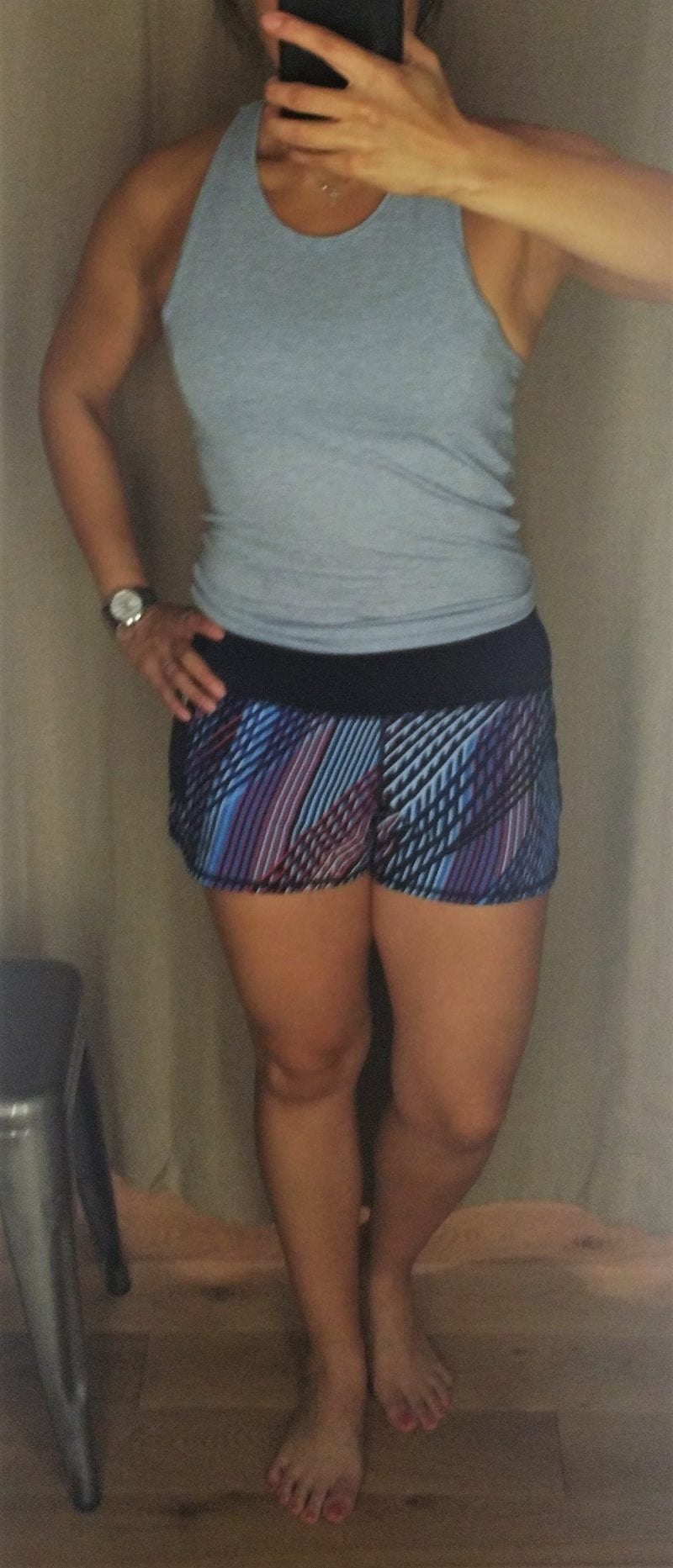Athleta Mosaic Ready Set Go Short Tag