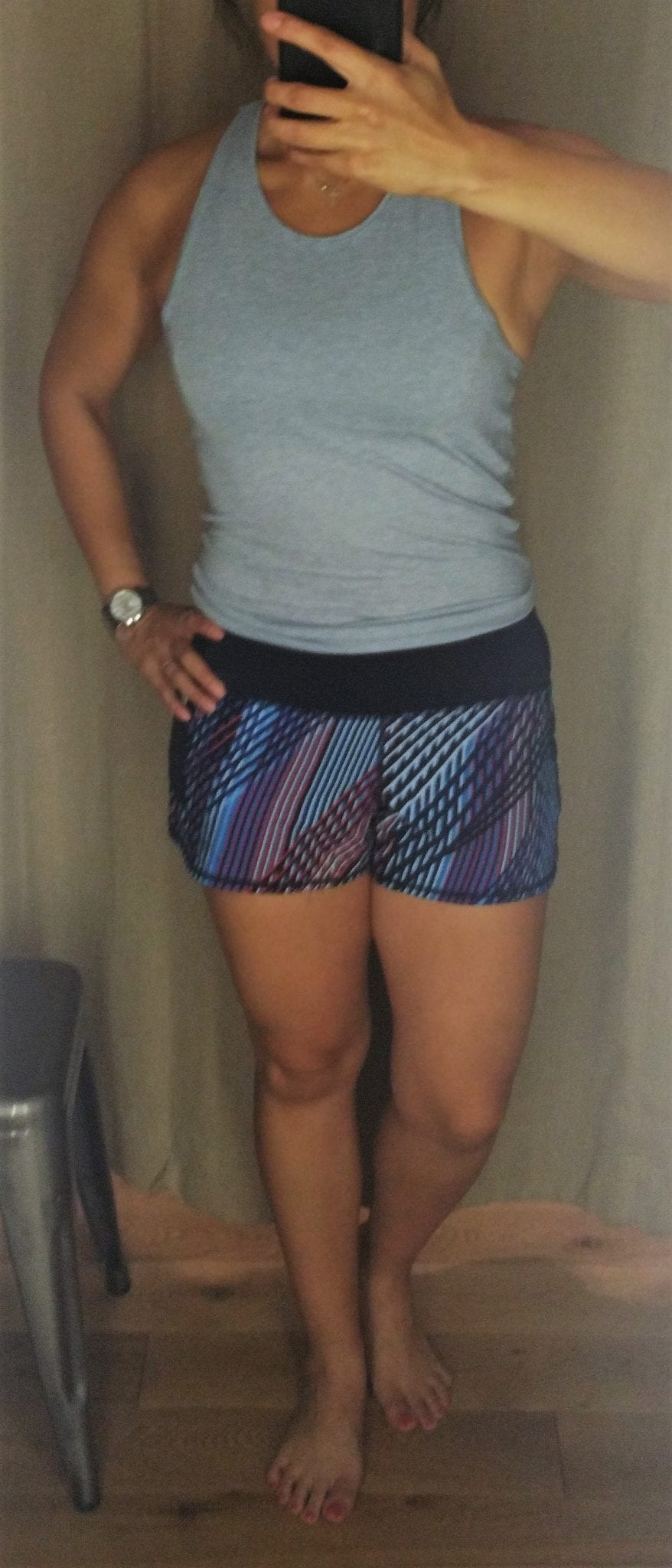 Athleta Mosaic Ready Set Go Short Tag