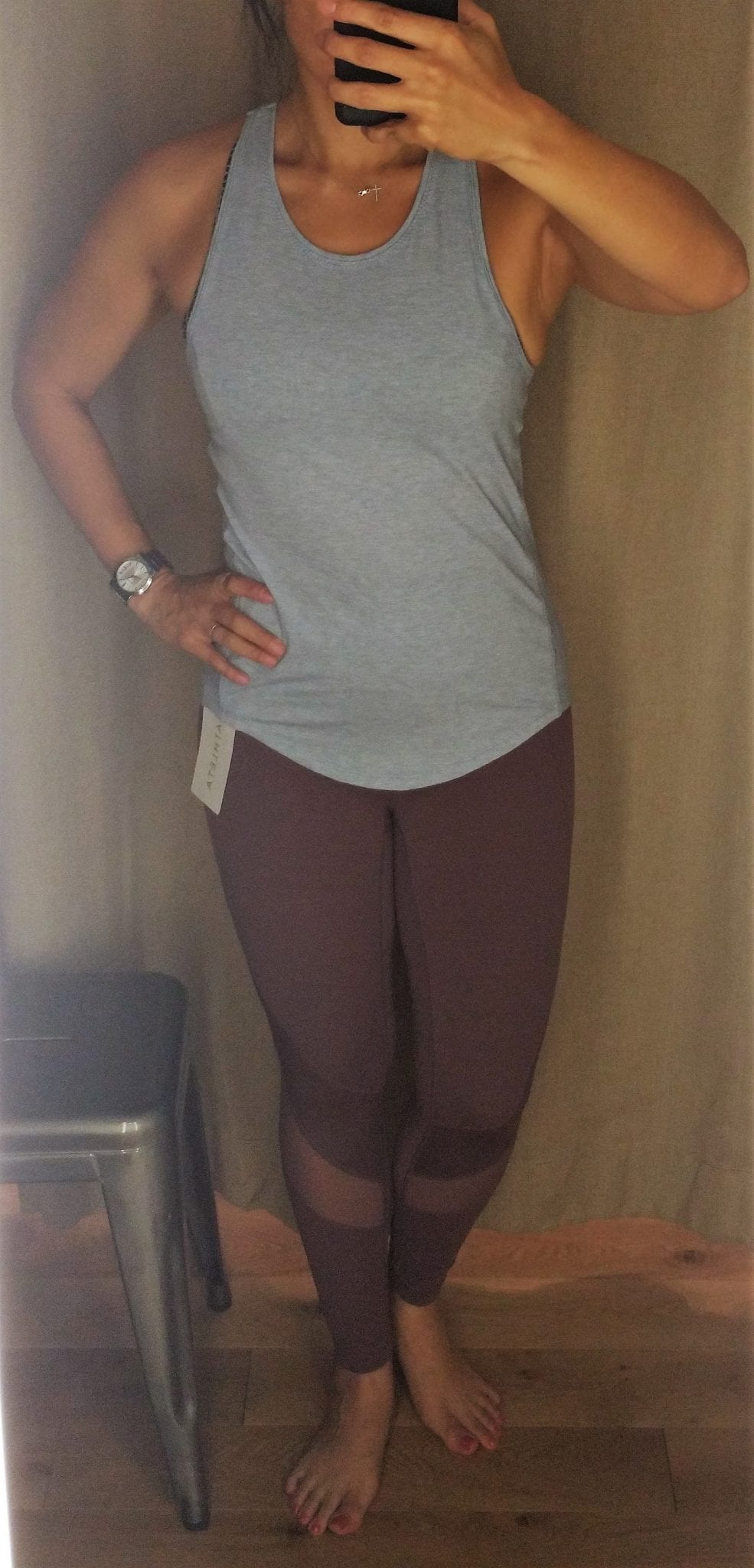 333fe3a2a1ca2 Guest Fit Review: Athleta Stealth Trucool 7/8 Tight, Yogini Tank ...