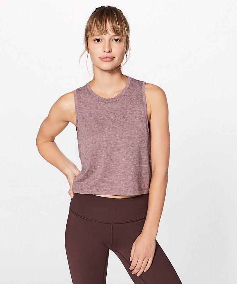 Box It Out Crop Tank