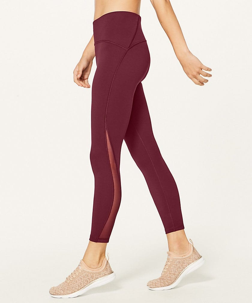 Train Time 7/8 Pant Deep Rouge