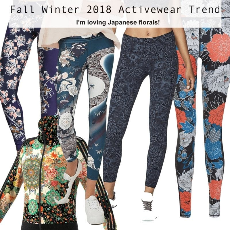 Activewear Trends for Fall Winter 2018