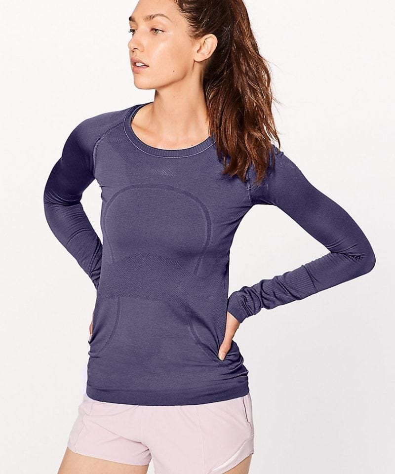 Swiftly Tech LS Crew Violet