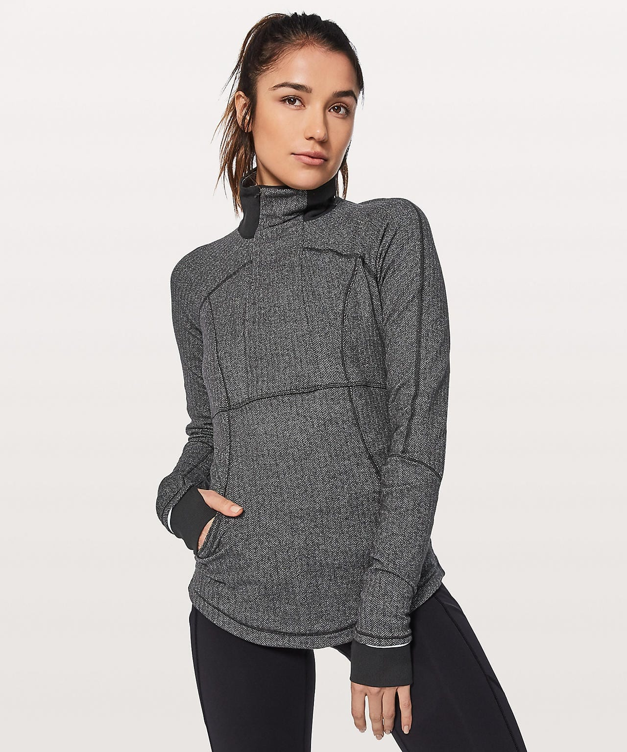 Lululemon Base Runner 1/2 Zip