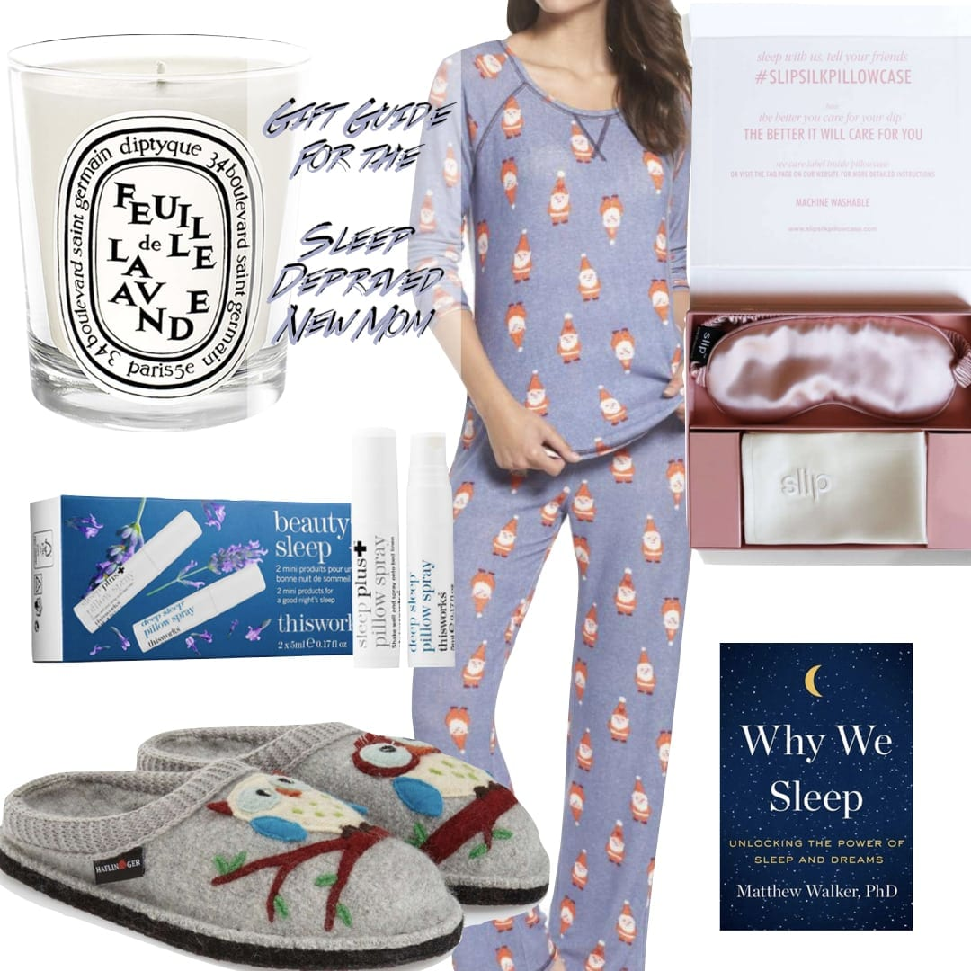 Holiday Gift Guide For Sleep Deprived Moms and Insomniacs