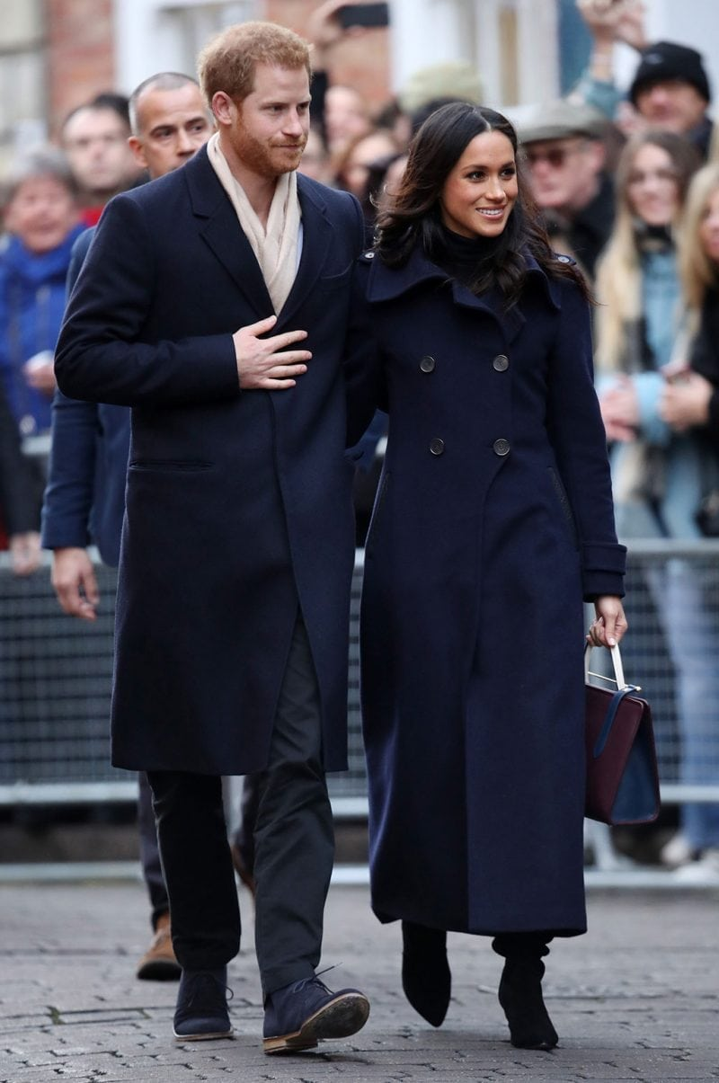 Meghan Markle Wool Coat