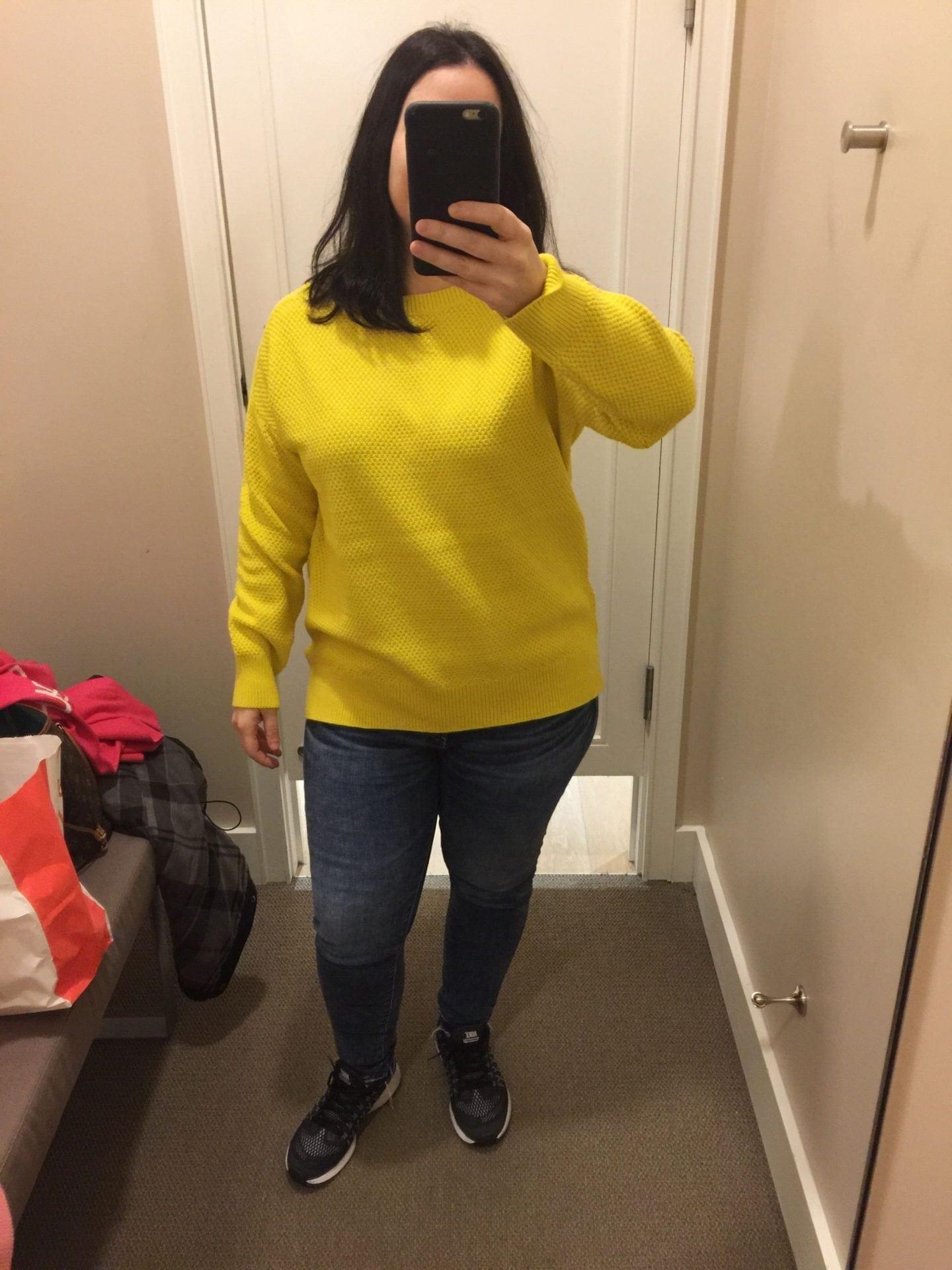 Loft: Textured Boatneck Sweater