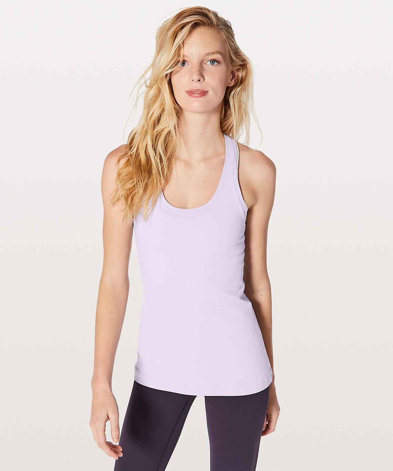 Faint Lavender Cool Racerback II