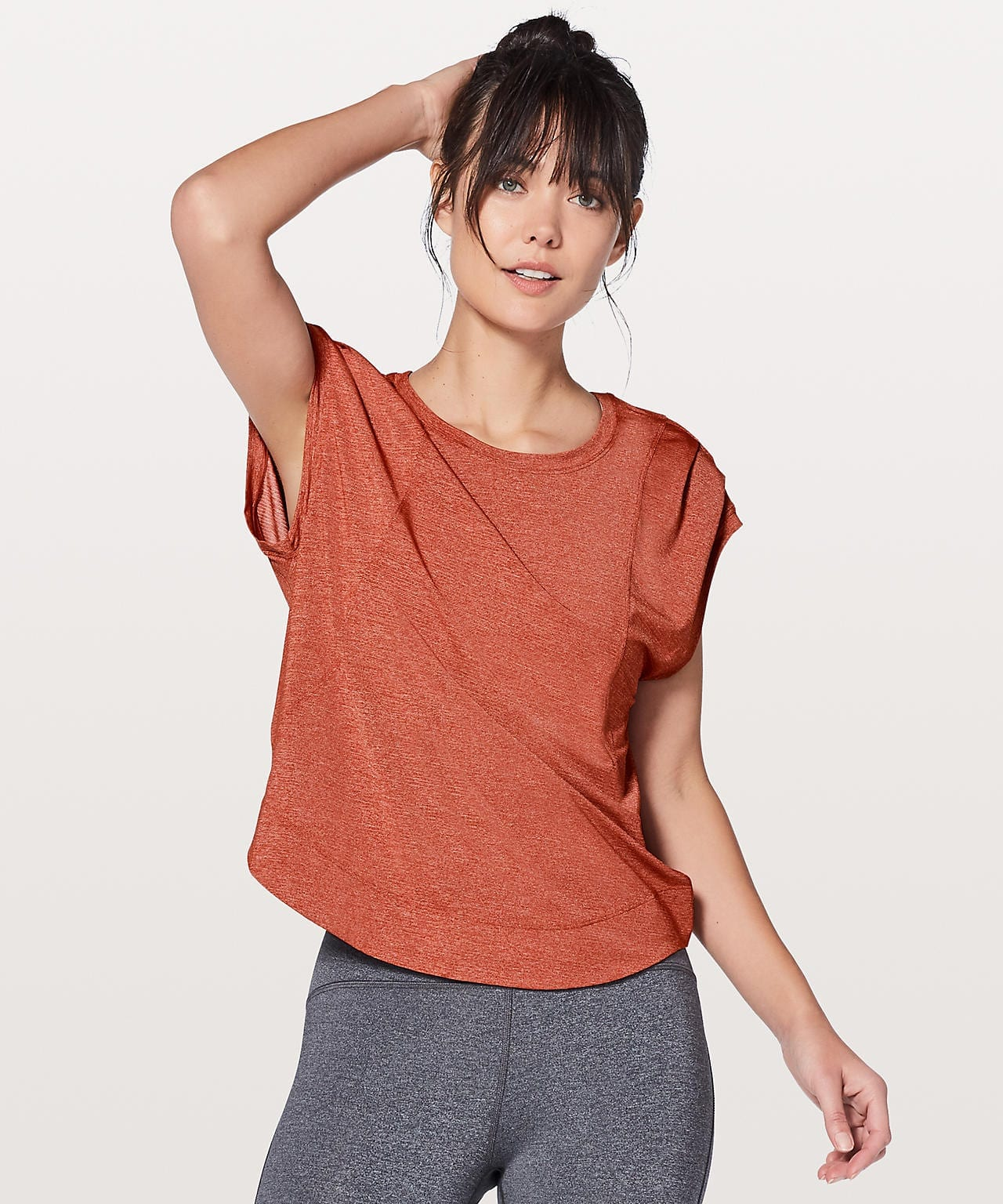 Gait Keeper Short Sleeve - Heathered Bonfire