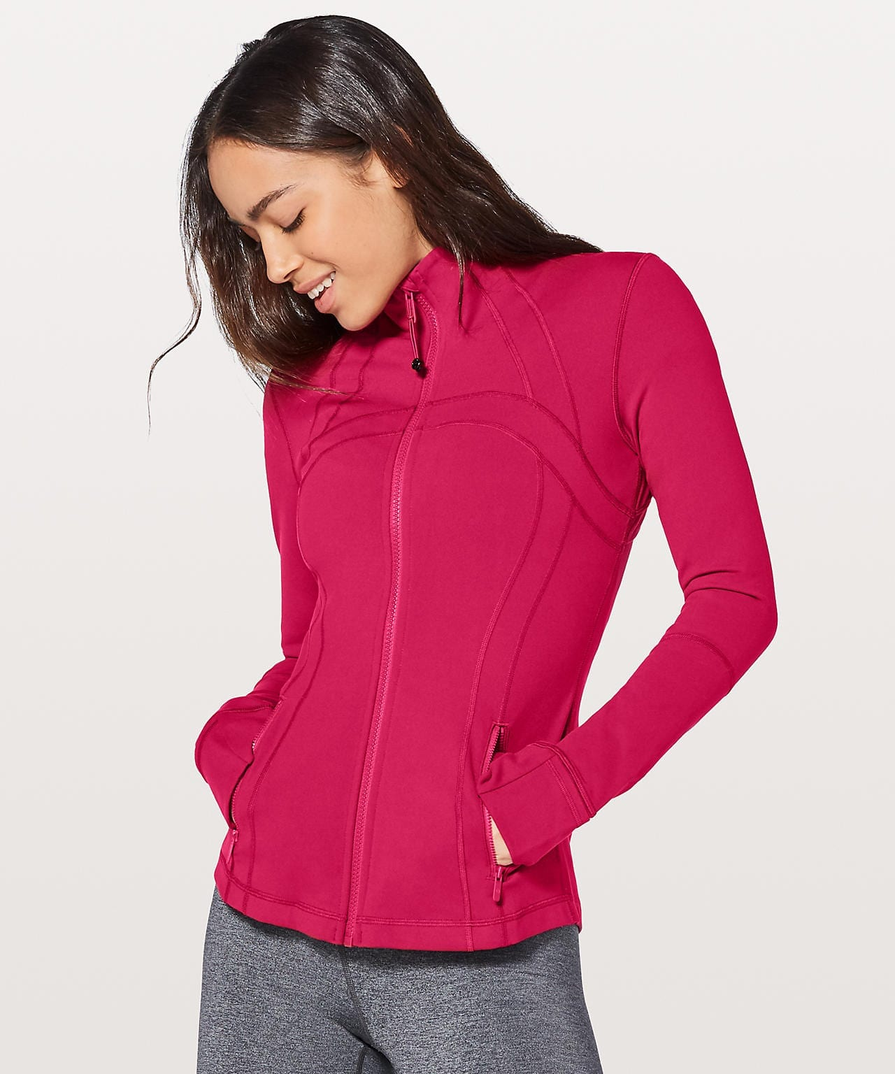 Ruby Red Define Jacket