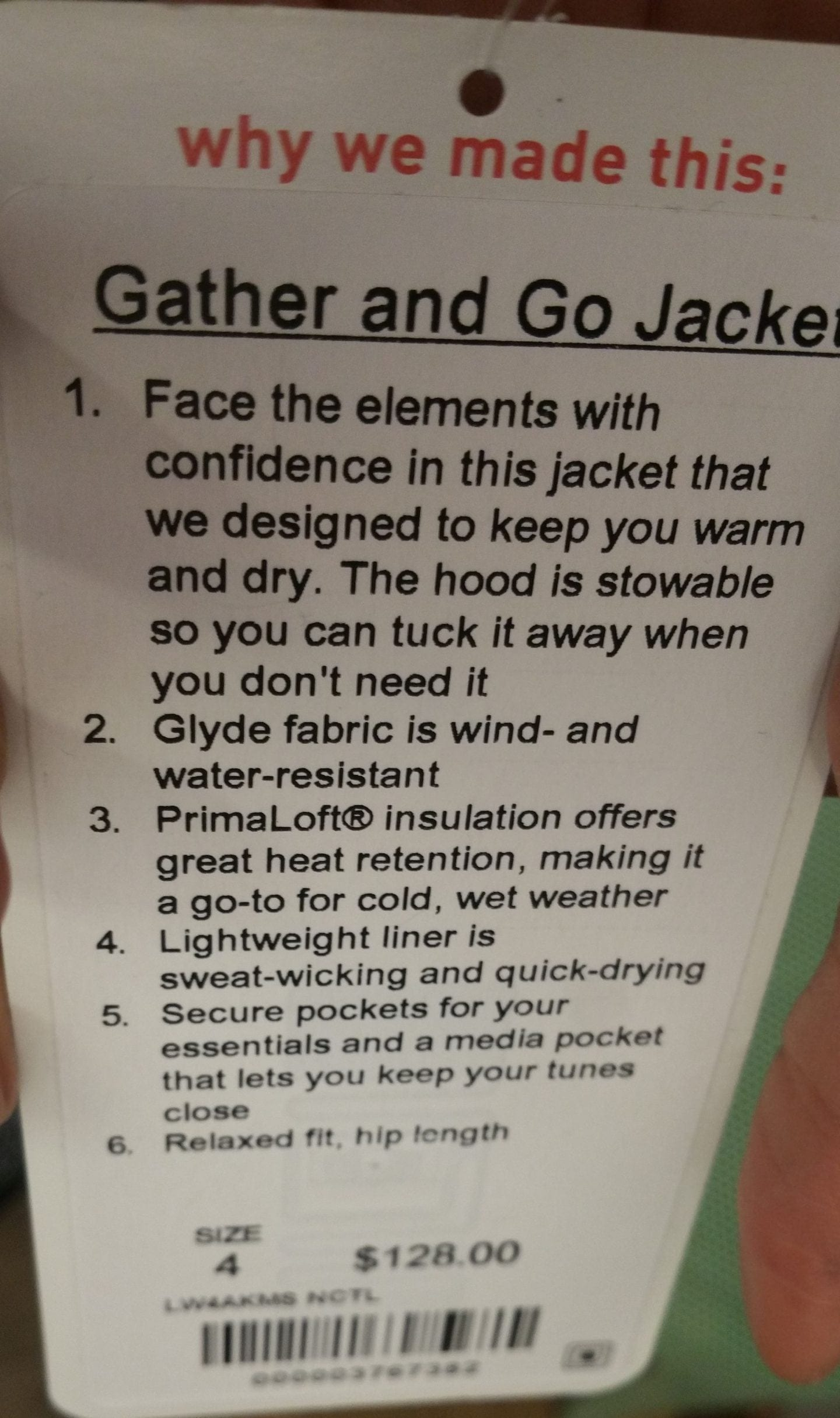 Gather & Go Jacket