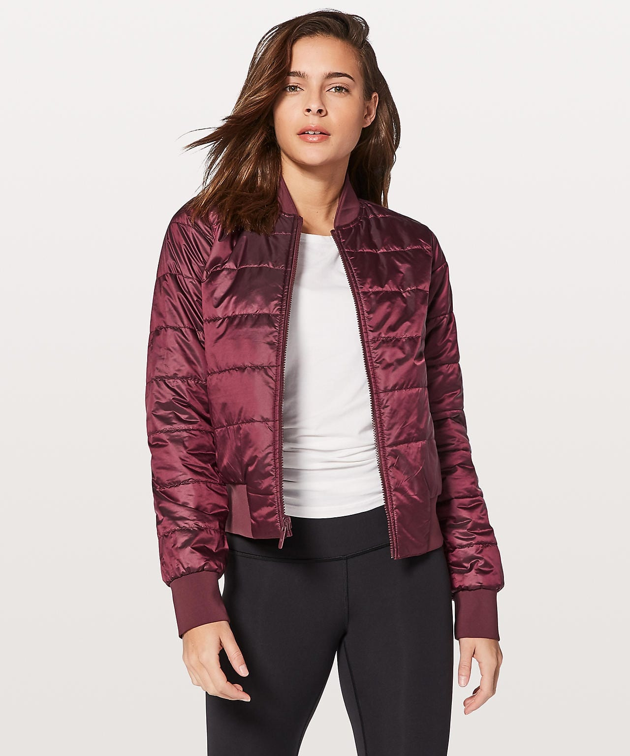 Non-Stop Bomber Reversible Redwood