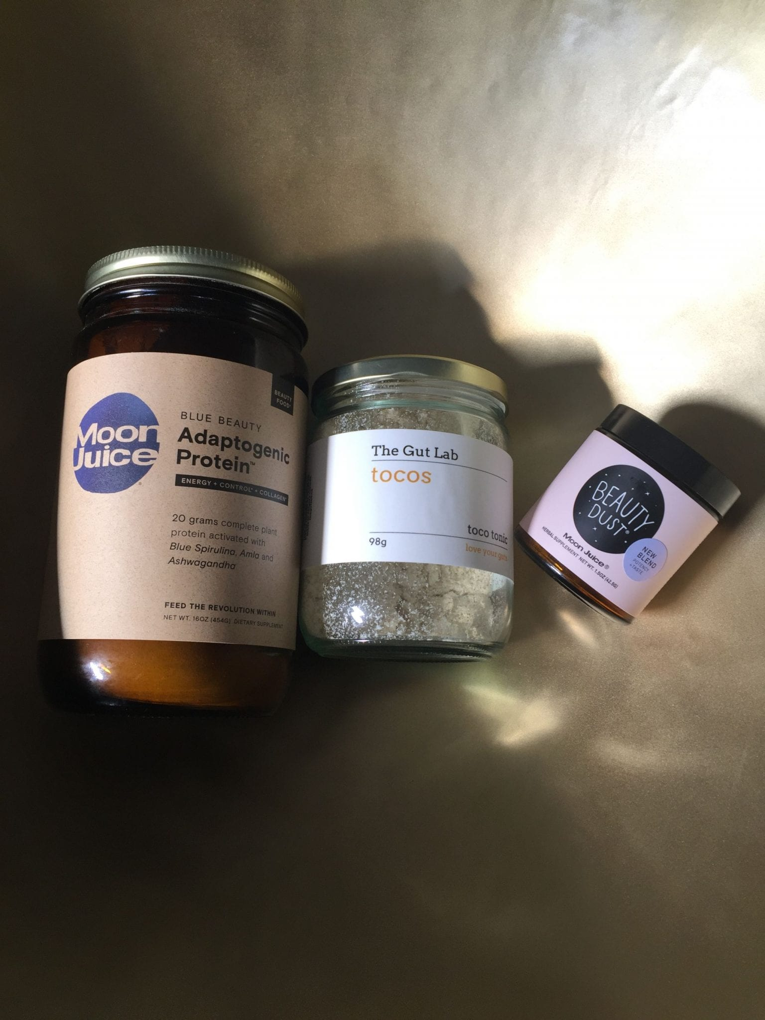 Moon Juice Beauty Dust, Adaptogen Protein and Tocotrienol