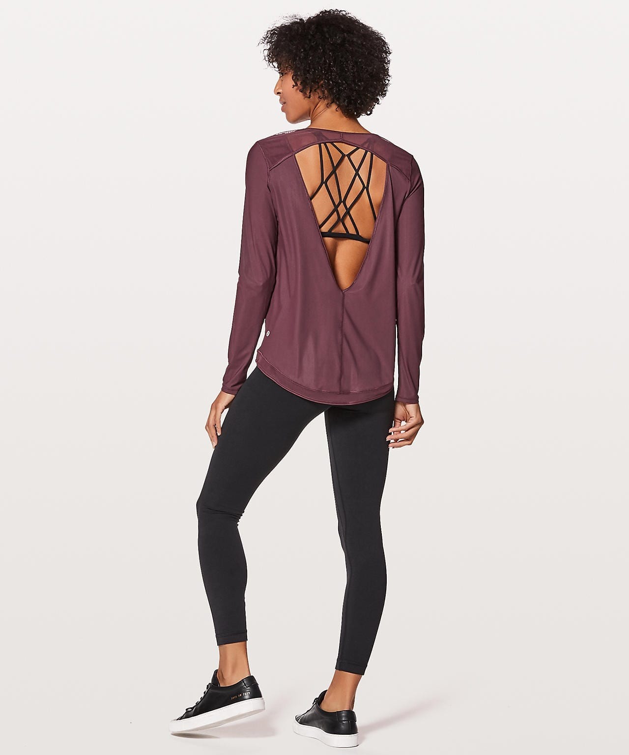 Mix & Mesh Long Sleeve