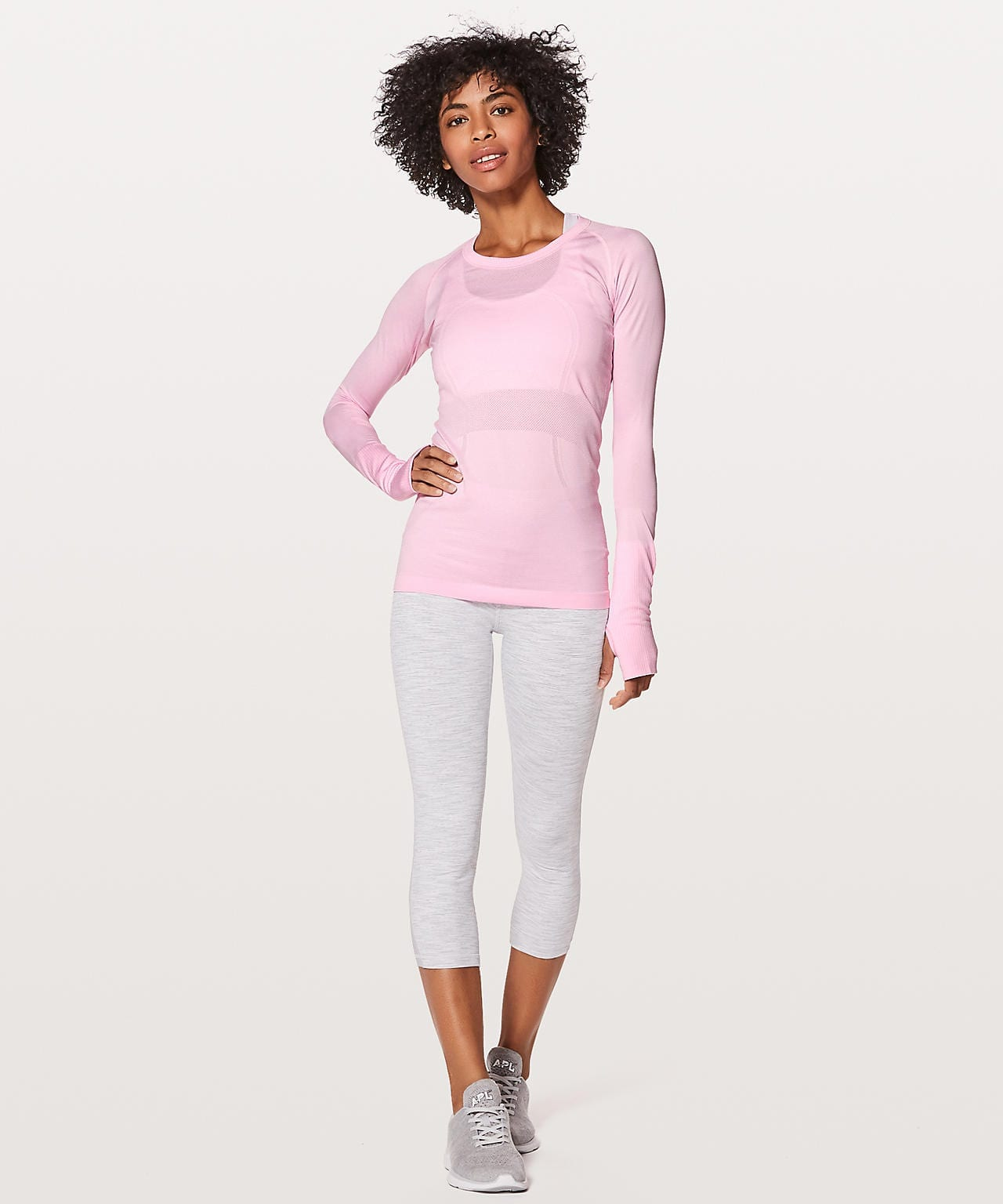 Swiftly Tech LS Pearl Pink