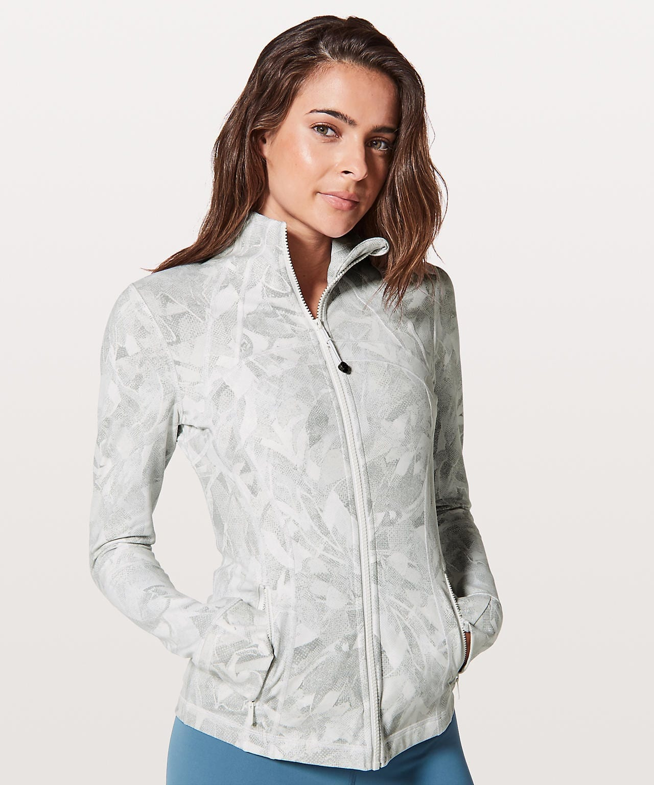 Define Jacket Jasmine White Multi