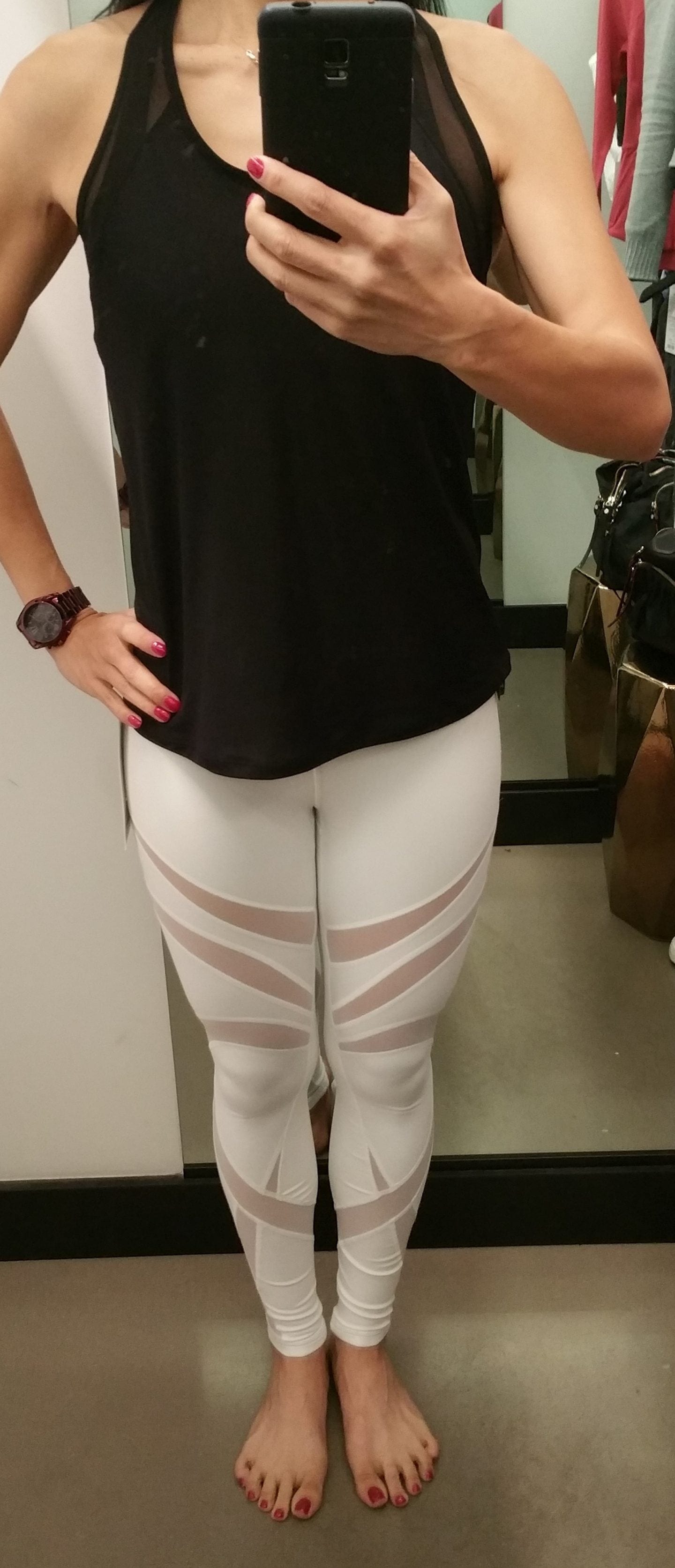 7fe3869b9 Lululemon Fit Review  Wunder Under HR 7 8 Tight  Mesh