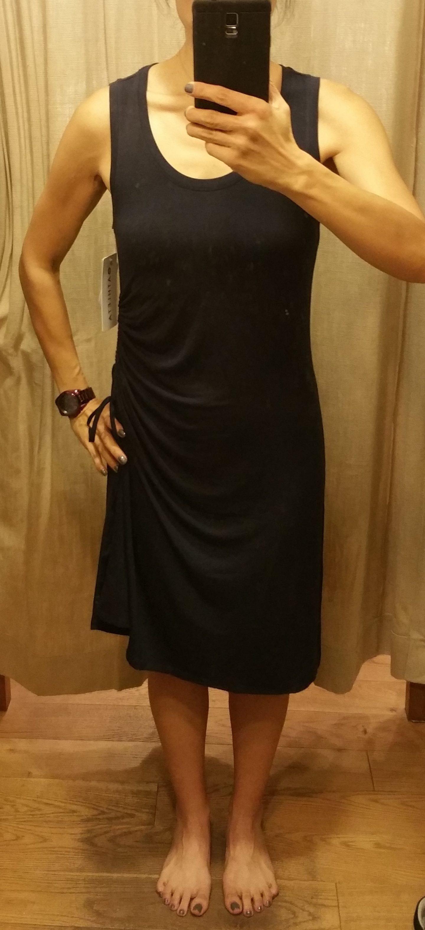 e5b1d6dd45c01 ATHLETA FIT REVIEW (Part 1): Santorini High Neck Printed Dress ...