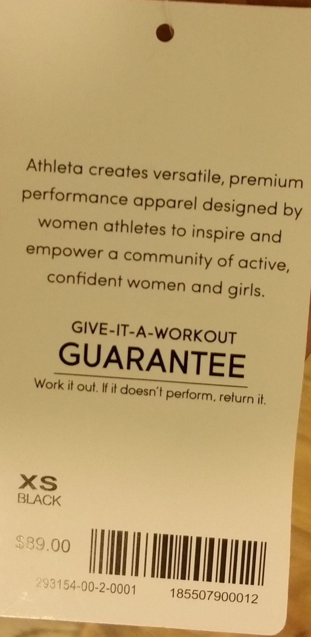 Athleta Trophy Tight and Bralette