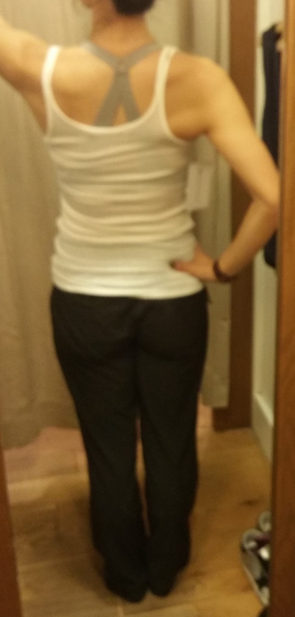 Athleta Chelsea Cargo Wide Leg Pant and Revive Tank