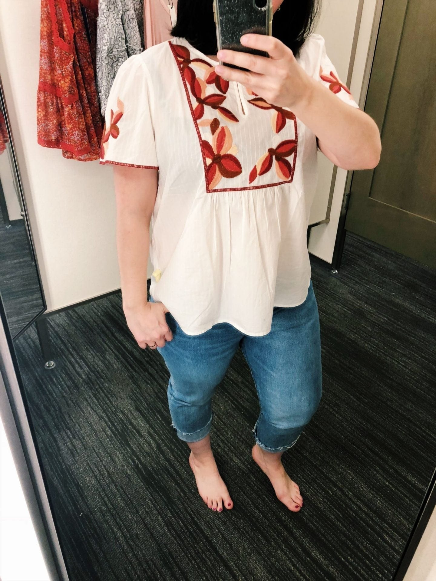 Embroidered Fable Top MADEWELL