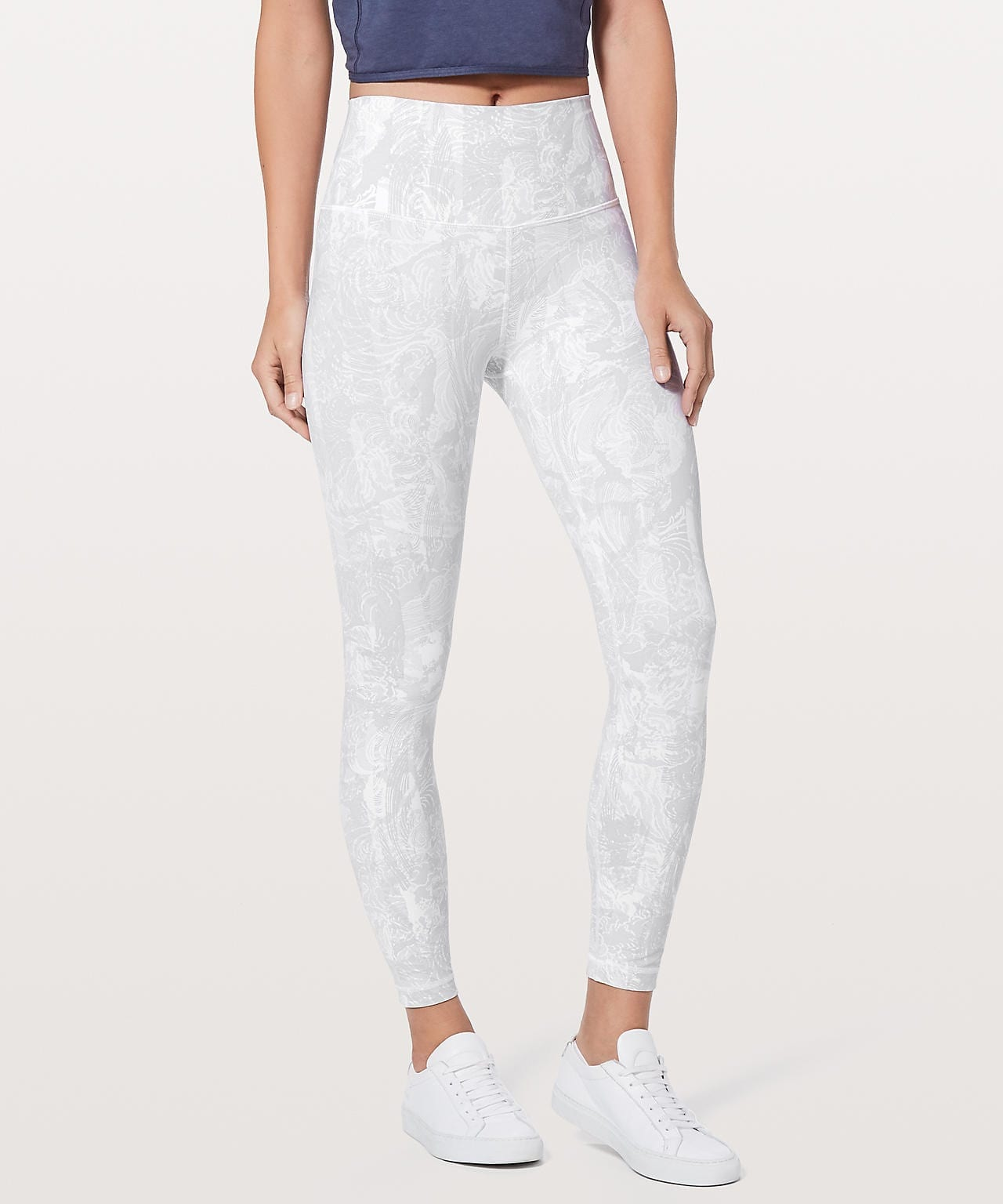 Eternal Wave White Wunder Under Hi-Rise 7:8 Tight