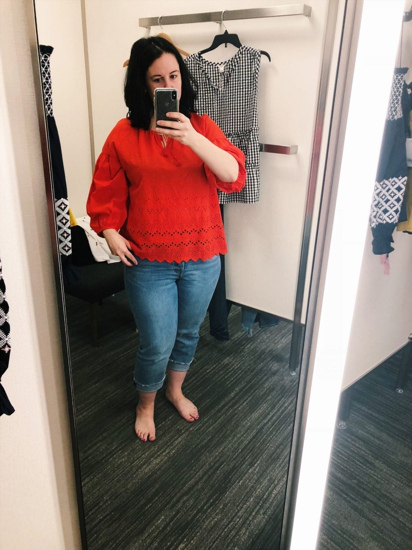 Eyelet Lattice Top MADEWELL
