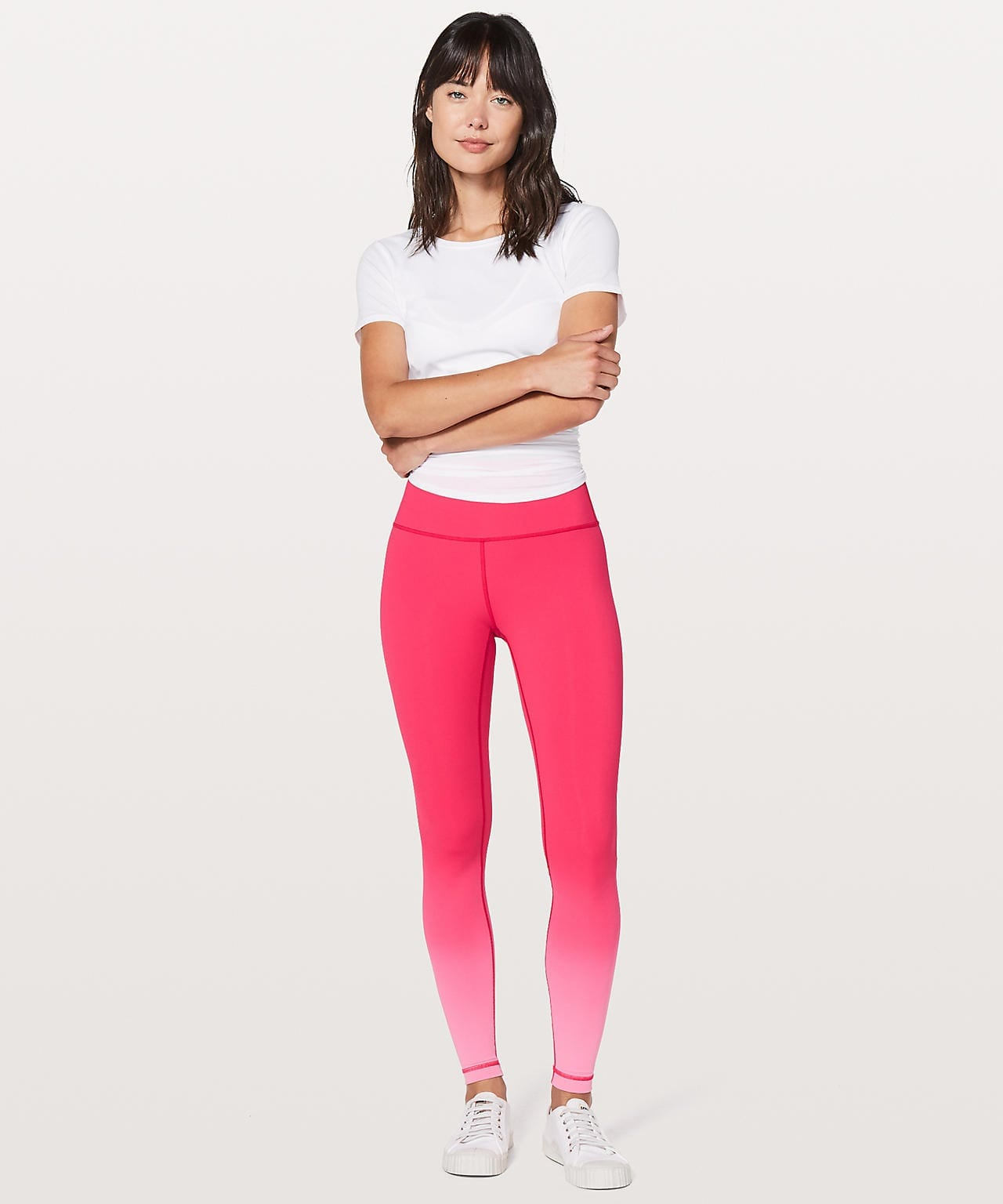 Ombre Fuchsia Pink Wunder Under Hi-Rise Tight (Ombre)