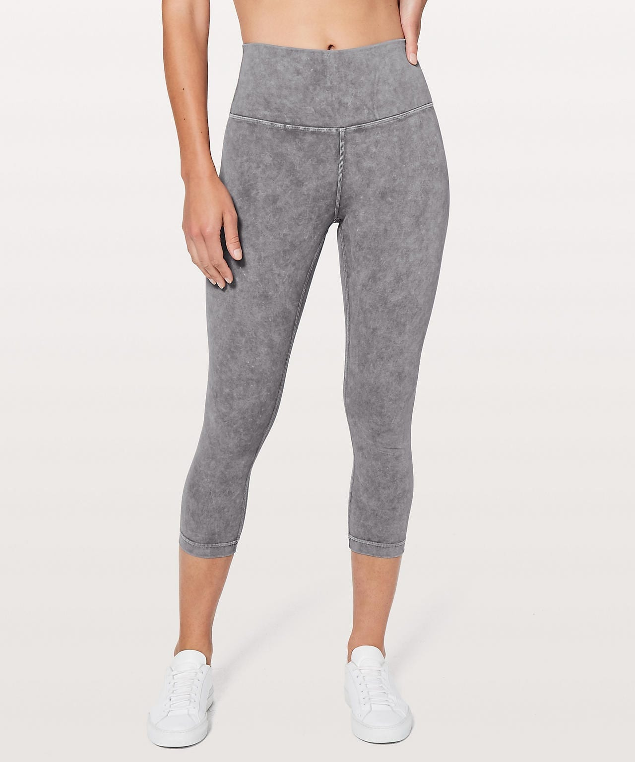 Lululemon Wunder Under Crop (Hi-Rise) Full-On Luxtreme *Washed Luna