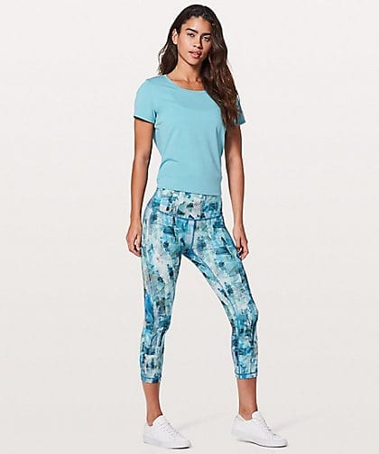 Lululemon Wunder Under Crop Hi Rise