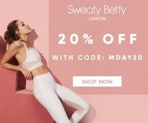 Sweaty Betty Memorial Day Sale