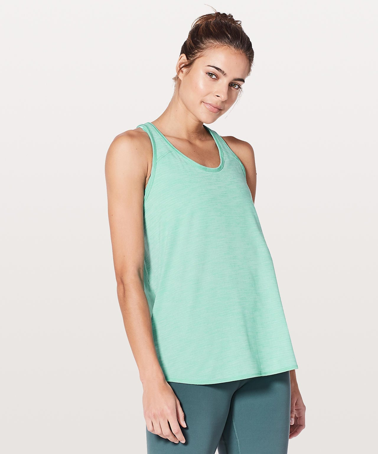 Essential Tank - Heathered Washed Marsh