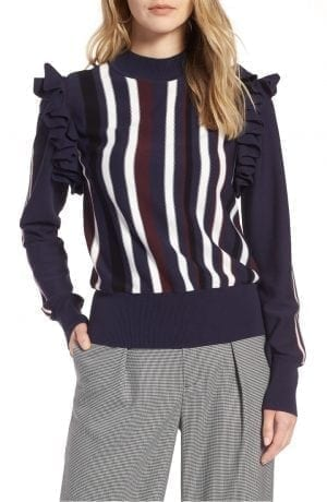 Halogen® Detachable Sleeve Sweater