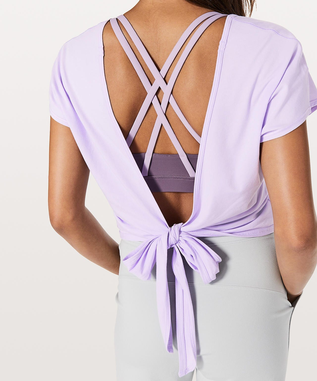 It's A Tie Tee - Sheer Violet