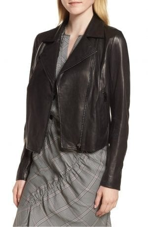 Lewit Leather Moto Jacket