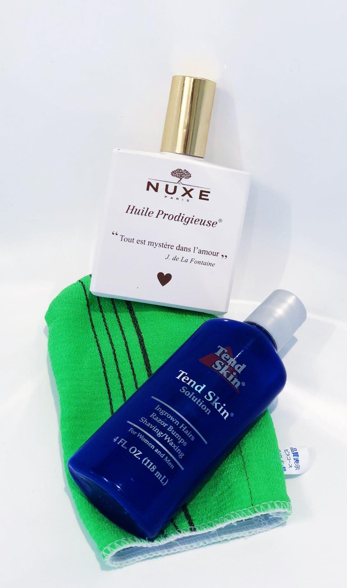 Tend Skin For Brazilian Hair Removal
