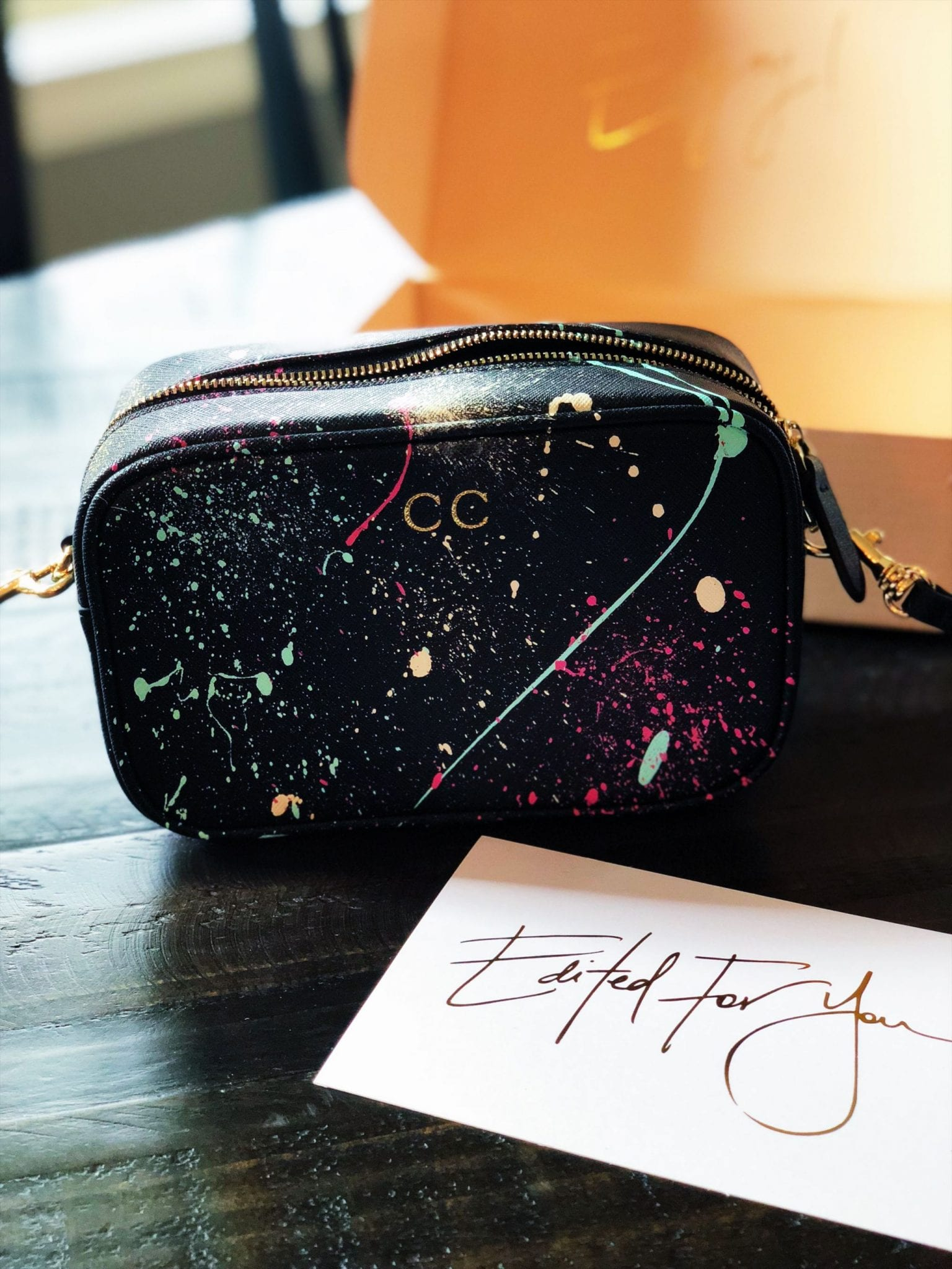 The Daily Edited Mini Cross Body Bag Graffiti Art Matt Litwack