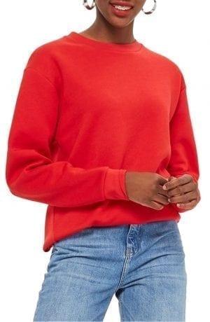 Topshop Longline Sweatshirt