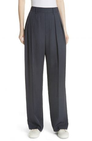 Vince High Waist Wide Leg Pants