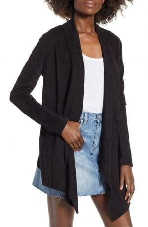 BlankNYC CLOUD NINE DRAPE JACKET Black | NORDSTROM Anniversary Sale 2018