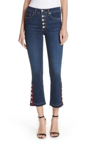 Button Hem Baby Boot Jeans VERONICA BEARD