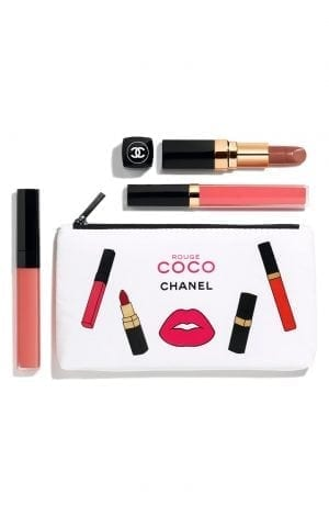 CHANEL ROUGE COCO CORAL SET
