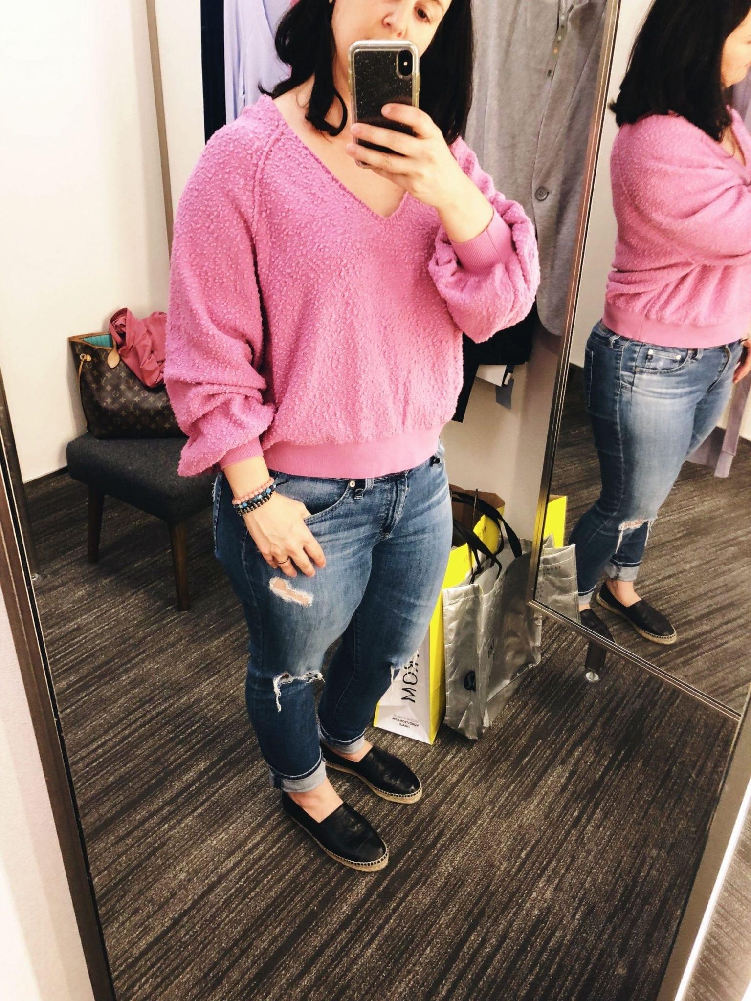 Found My Friend Sweater FREE PEOPLE