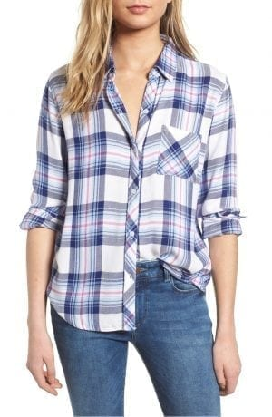 Hunter Plaid Shirt Rails