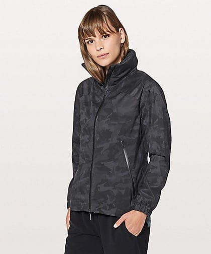 Incognito Camo Multi Grey Here To Move Jacket Lululemon, Here To Move Jacket Incognito Camo